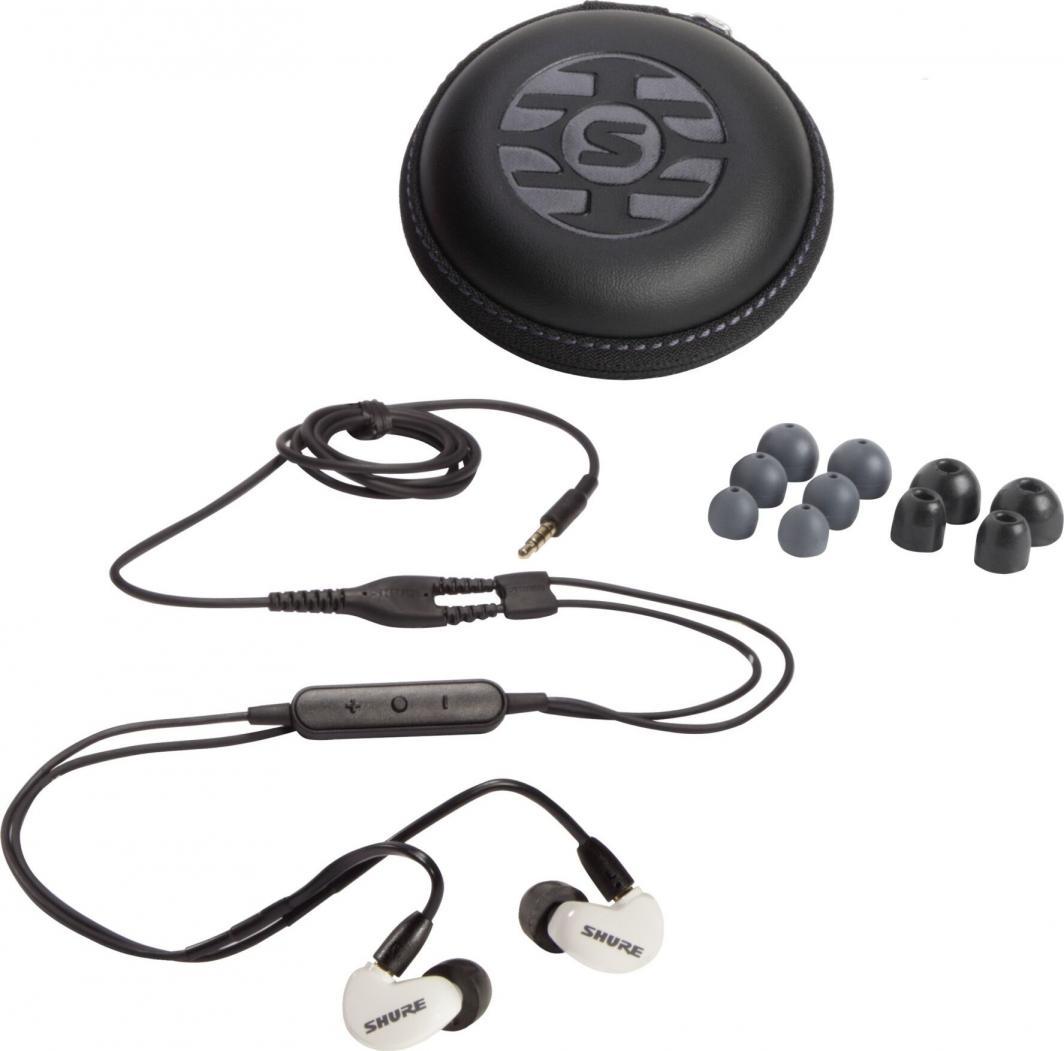 Słuchawki Shure Aonic 215 SE215DYWH+UNI-EF 1