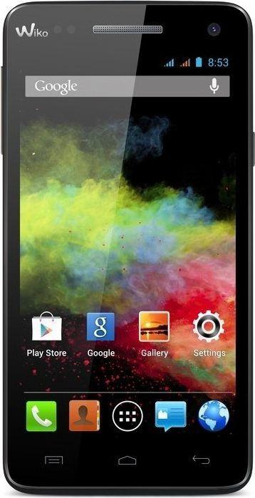 Smartfon Wiko 4 GB Dual SIM Czarny  (BLOOM CZARNY) 1