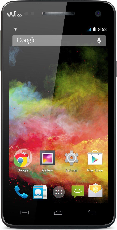 Smartfon Wiko 4 GB Dual SIM Czarny  (RAINBOW CZARNY) 1