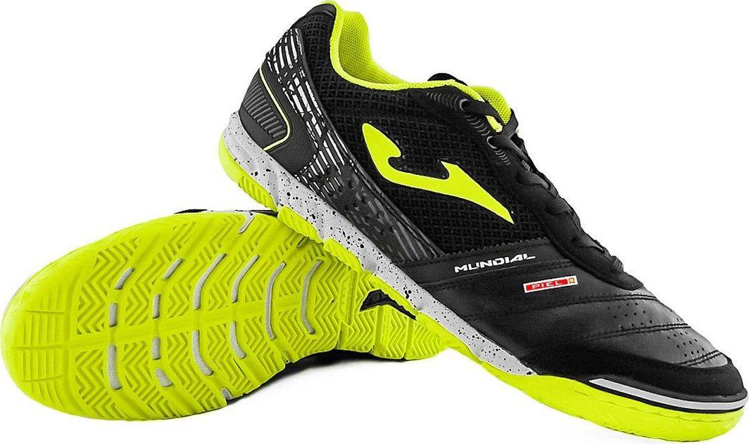 Joma Czarno-żółte buty piłkarskie na halę Joma Mundial 901 40 1