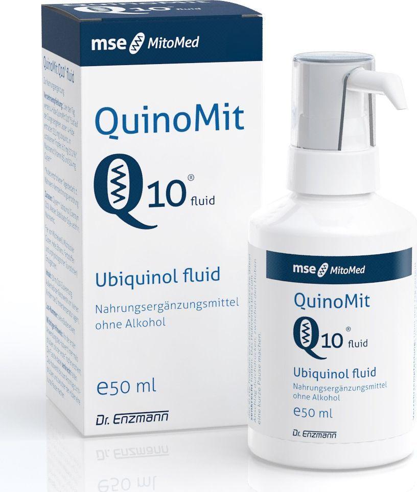 Dr Enzmann QuinomitQ10 Fluid Najbardziej Aktywna Forma Koenzymu Q10 Na Świecie. Czystość 99,8% 50 Ml 1