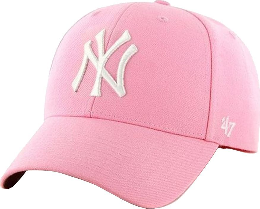 47 Brand 47 Brand New York Yankees MVP Cap B-MVP17WBV-RSB różowe One size 1