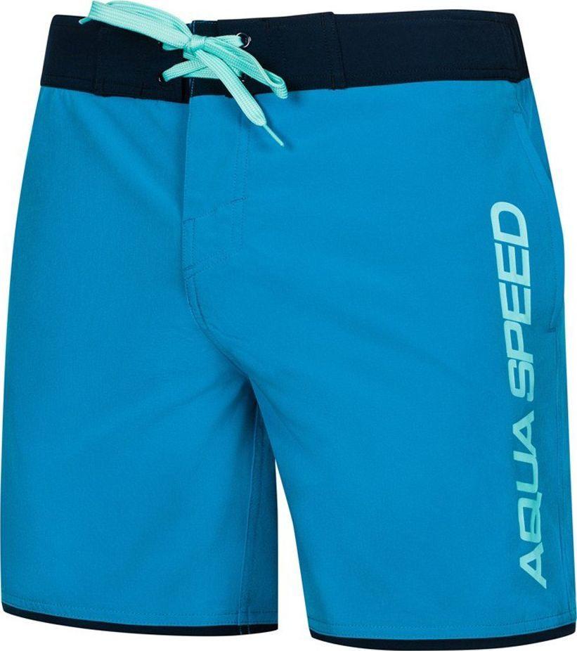 Aqua-Speed Szorty pływackie, spodenki męskie EVAN niebieskie Aqua-Speed Rozmiar L 1