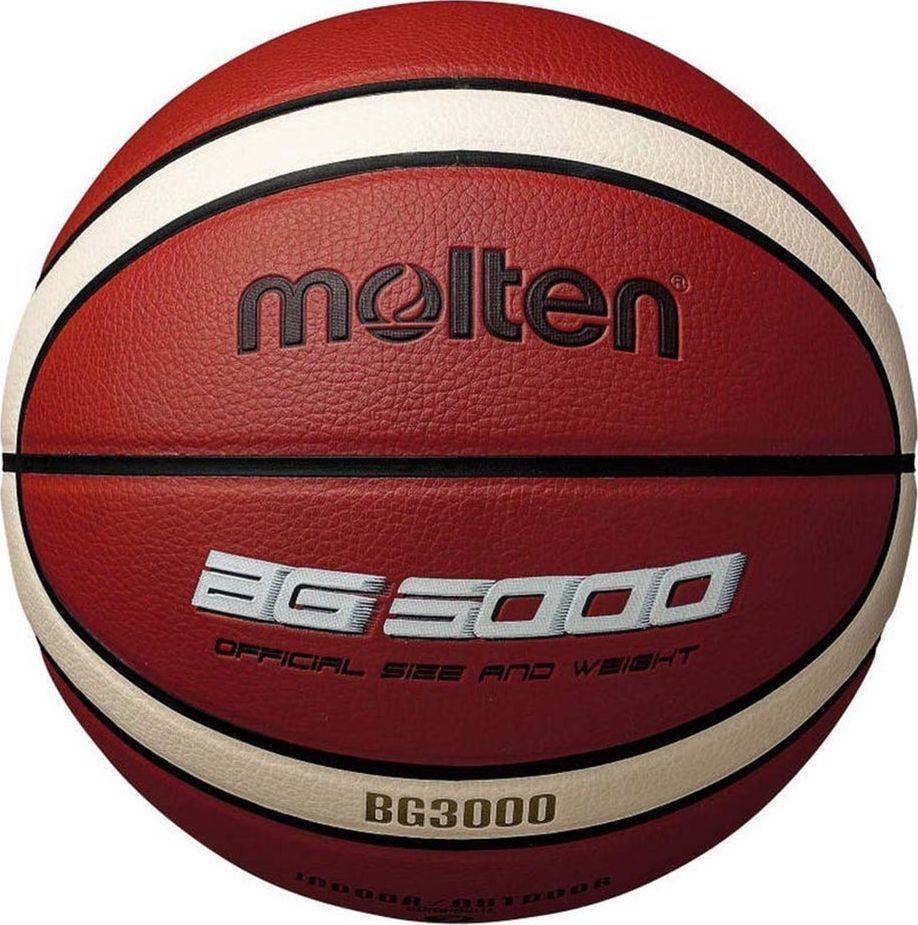 Molten B7G3000 Piłka do koszykówki Molten BG3000 uniwersalny 1
