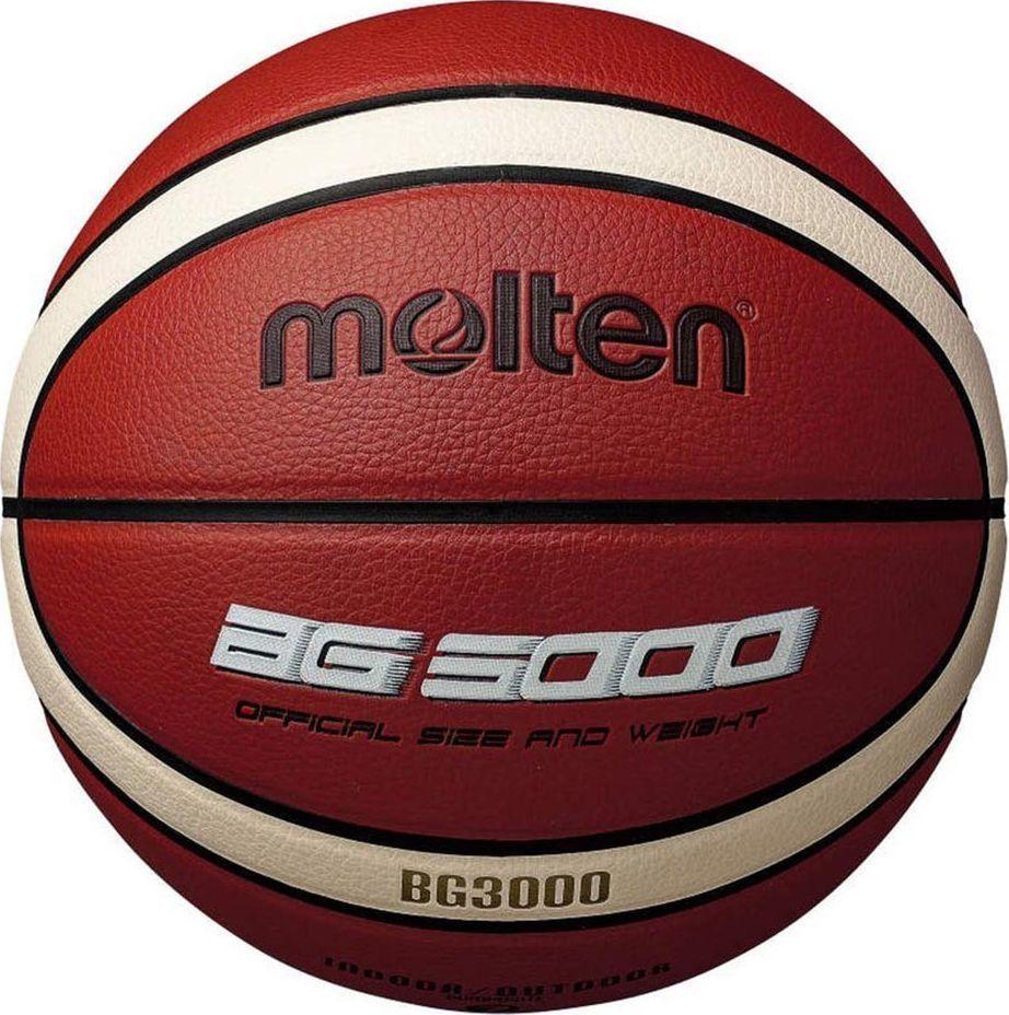 Molten B6G3000 Piłka do koszykówki Molten BG3000 uniwersalny 1