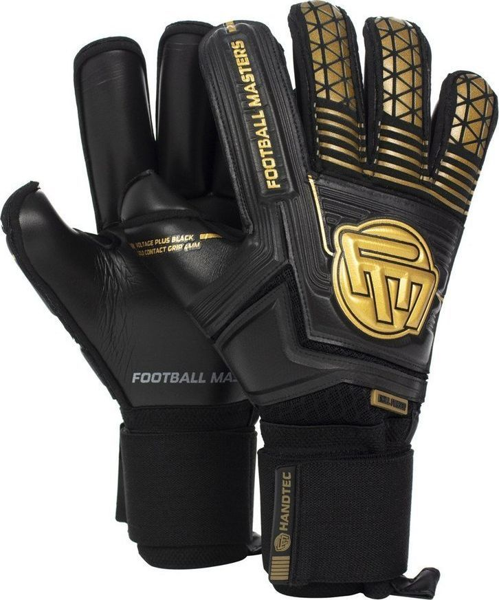 Football Masters VOLTAGE PLUS BLACK GOLD CONTACT GRIP 4 MM RF v 3.0 10 1