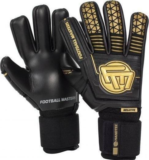 Football Masters VOLTAGE PLUS BLACK GOLD CONTACT GRIP 4 MM NC v 3.0 9,5 1