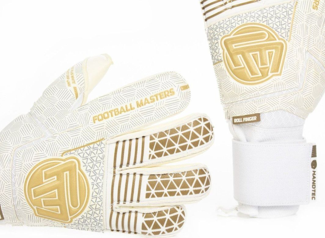 Football Masters VOLTAGE PLUS WHITE GOLD CONTACT GRIP 4 MM RF v 3.0 9,5 1