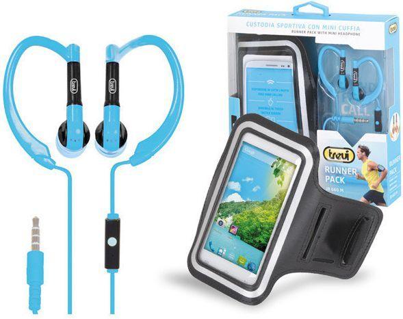 Słuchawki Trevi JR660 + opaska biegowa na smartfon 1