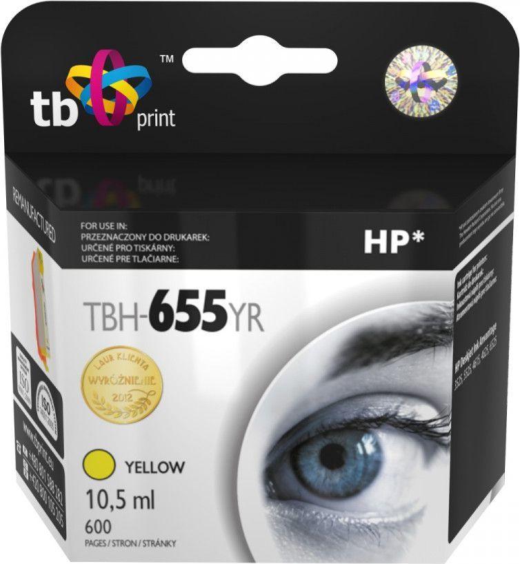 TB Tusz do HP DJ Advantage 3225 Yellow (TBH-655YR) 1