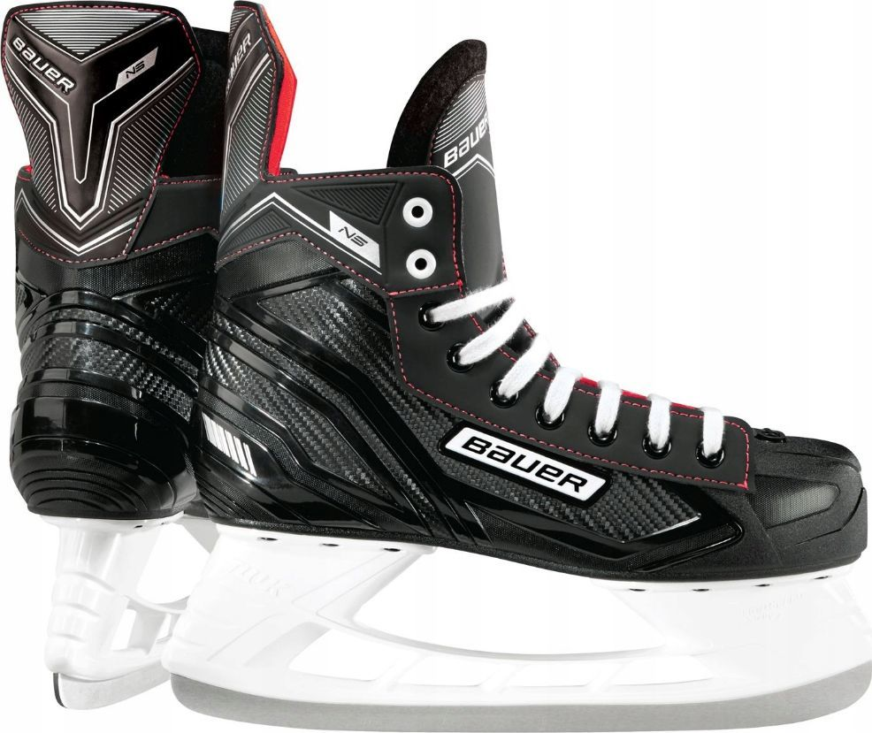 Bauer Łyżwy hokejowe Bauer Ns Junior czarne r. 37.5 (63380) 1