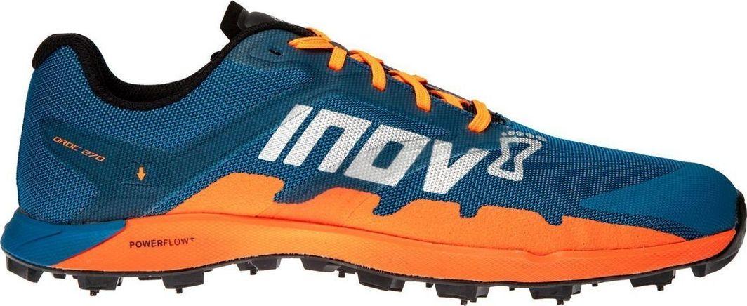 Inov-8 Buty z kolcami Inov-8 Oroc 270 niebiesko-pomarańczowe damskie 37.5 1