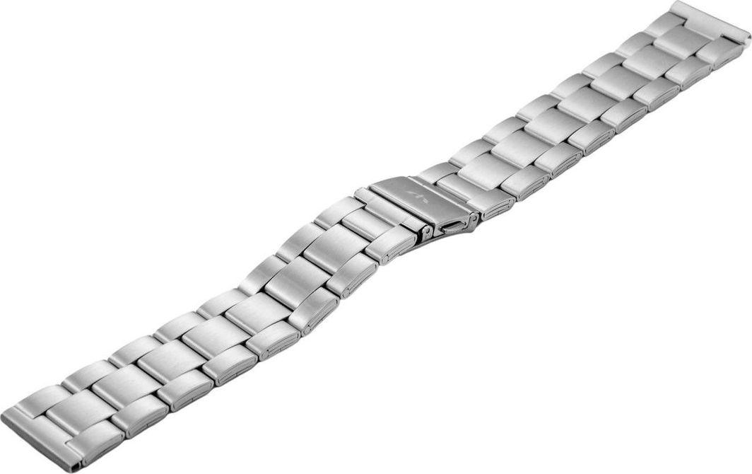 Bisset Bransoleta stalowa do zegarka 20 mm BR-119/20 Silver uniwersalny 1