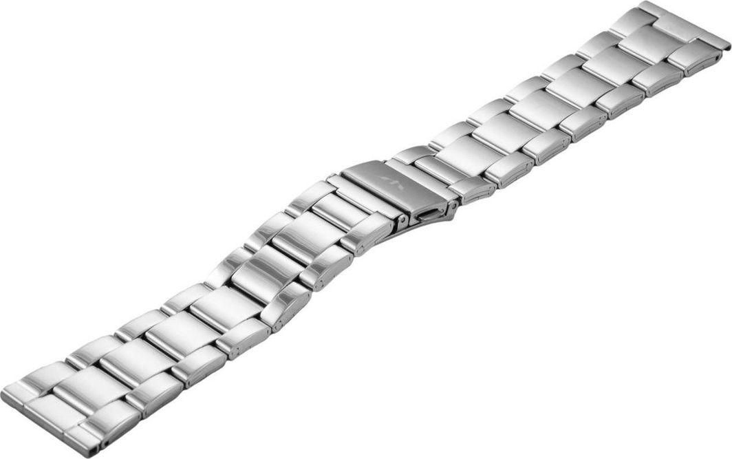 Bisset Bransoleta stalowa do zegarka 22 mm BR-120/22 Silver uniwersalny 1