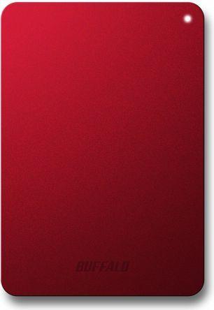 Dysk zewnętrzny Buffalo HDD MiniStation Safe 1 TB Czerwony (HD-PNF1.0U3BR-EU) 1