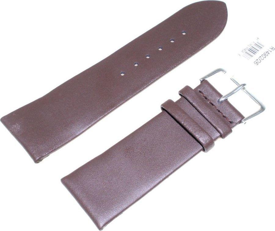 JVD Skórzany pasek do zegarka 26 mm JVD R14902-26 uniwersalny 1