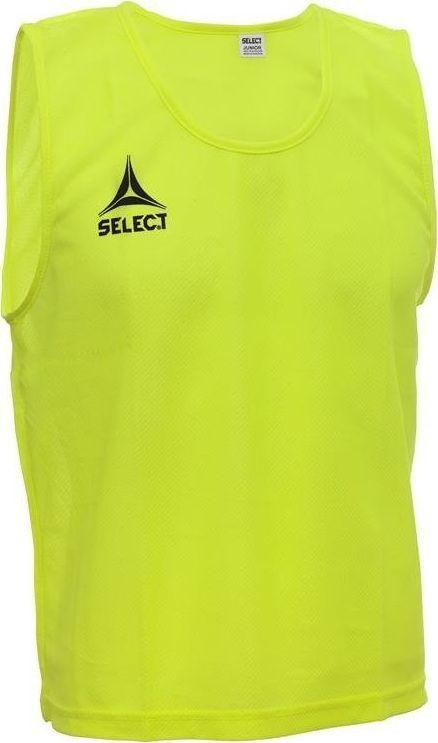 Select Żółty znacznik piłkarski sportowy narzutka Select Basic Junior Junior 1