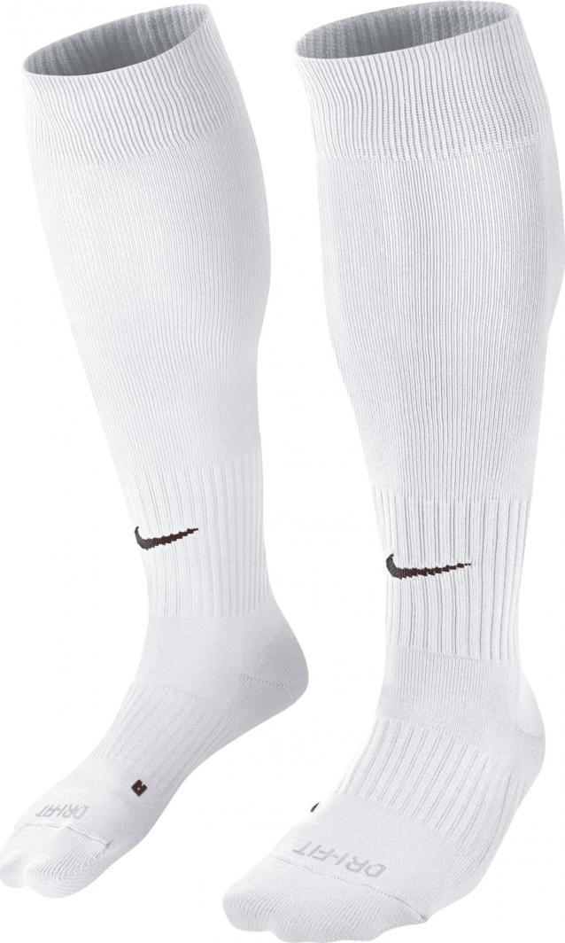 Nike Białe getry skarpety piłkarskie Nike Classic II Cush OTC Team SX5728-100 38-42 1