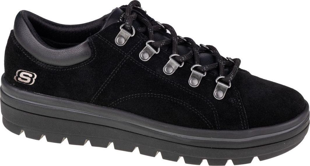 Skechers Buty damskie Street Cleats 2 Fashion Trail 74107-BBK czarne r. 37.5  1