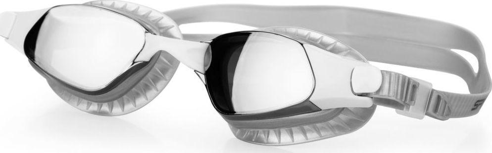 Spokey Okulary pływackie lustrzanki ERISK srebrne Spokey 1