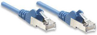 Intellinet Network Solutions PatchCord, Cat5e, SFTP, 10m, niebieski, 5 sztuk (330862-5P) 1