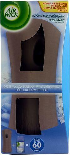 Air Wick Airwick Dyfuzor+Zapas Orzeźwiająca bawełna 250ml uniwersalny 1