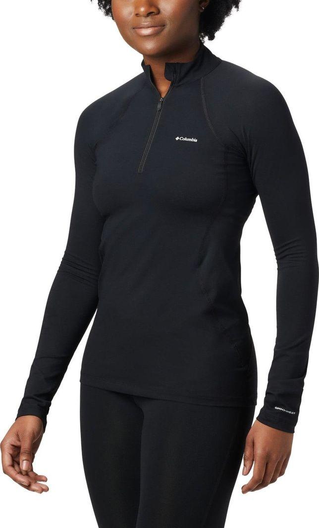 Columbia Koszulka damska termoaktywna Midweight Strech Longsleeve czarna r. XS (1639001010) 1