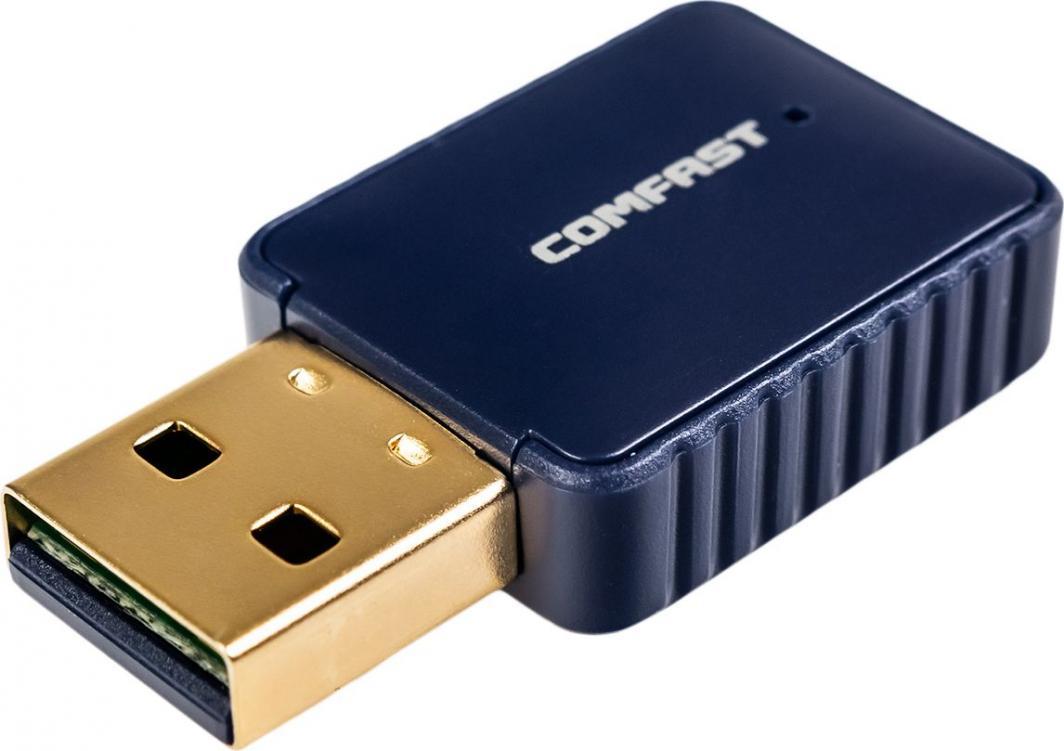 Karta sieciowa Comfast 726B USB AC600 BT 1