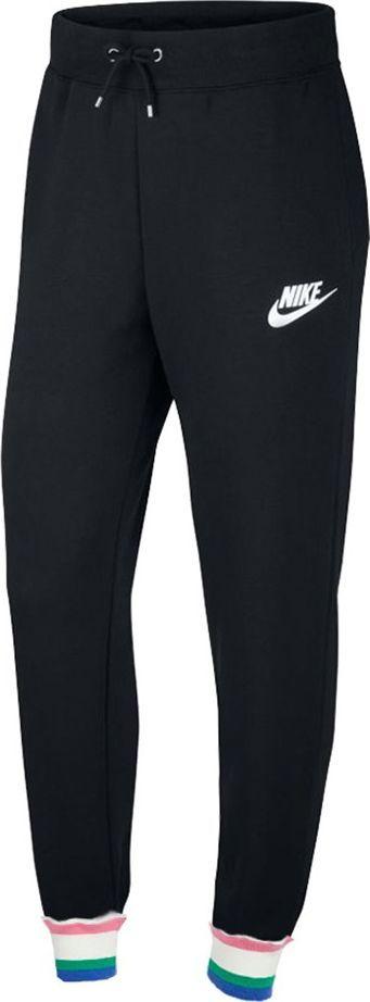 Nike Spodnie damskie Nike Heritage Flc czarne CU5909 010 : Rozmiar - XL 1