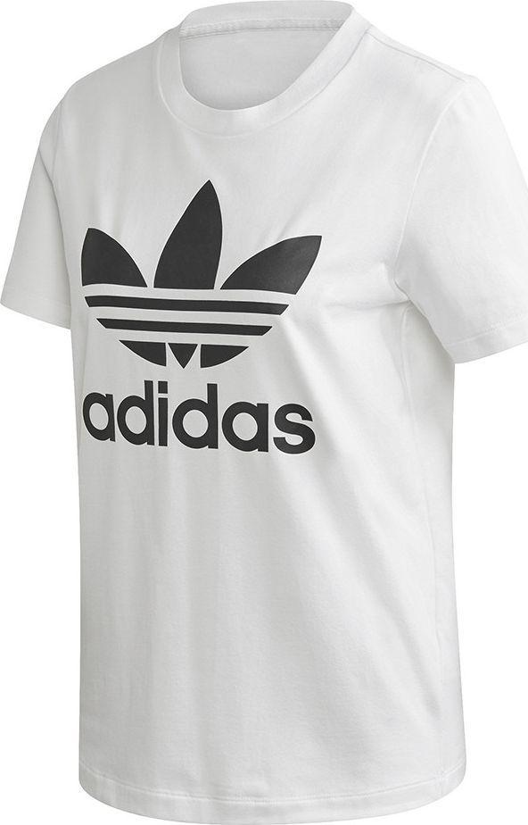 Adidas Koszulka damska adidas Trefoil Tee biała FM3306 : Rozmiar - 38 1