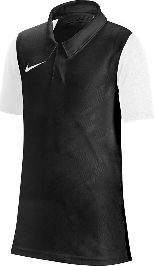 Nike Koszulka Nike Y Trophy IV JSY SS czarno-biała JUNIOR BV6749 010 : Rozmiar - XS 1