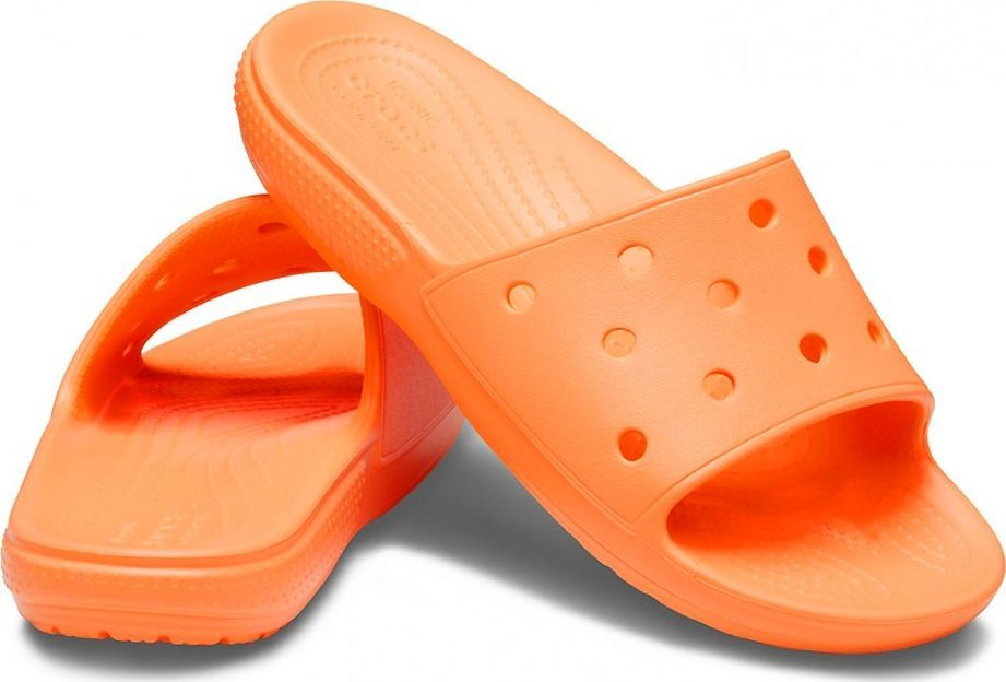 Crocs Crocs klapki damskie Classic Slide morelowe 206121 801 : Rozmiar - 38-39 1