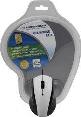 Mysz Esperanza EM125E + podkładka żelowa (EM125E) 1