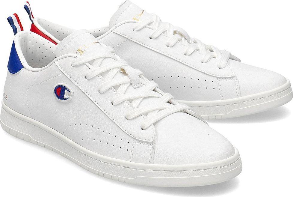 Champion Champion Low Cut Court Club Patch - Sneakersy Męskie - S21585-F20-WW009 40 1
