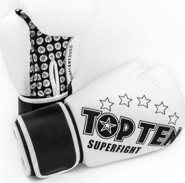 TOP TEN Rękawice bokserskie TOP TEN Superfight 3000 STARS uniwersalny 1