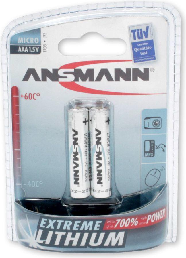 Ansmann Bateria AAA / R03 2szt. 1