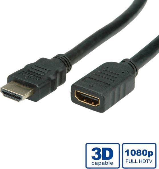 Kabel Value HDMI - HDMI 5m czarny (11.99.5577) 1
