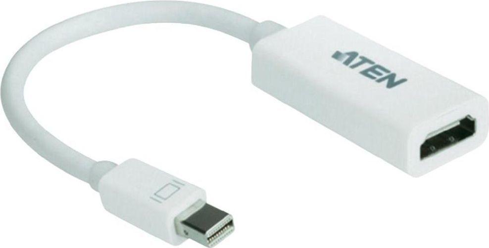 Adapter AV Aten DisplayPort Mini - HDMI 0.2m biały (VC980-AT) 1