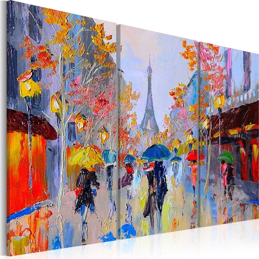 Artgeist Obraz - Deszczowy Paryż ARTGEIST 1