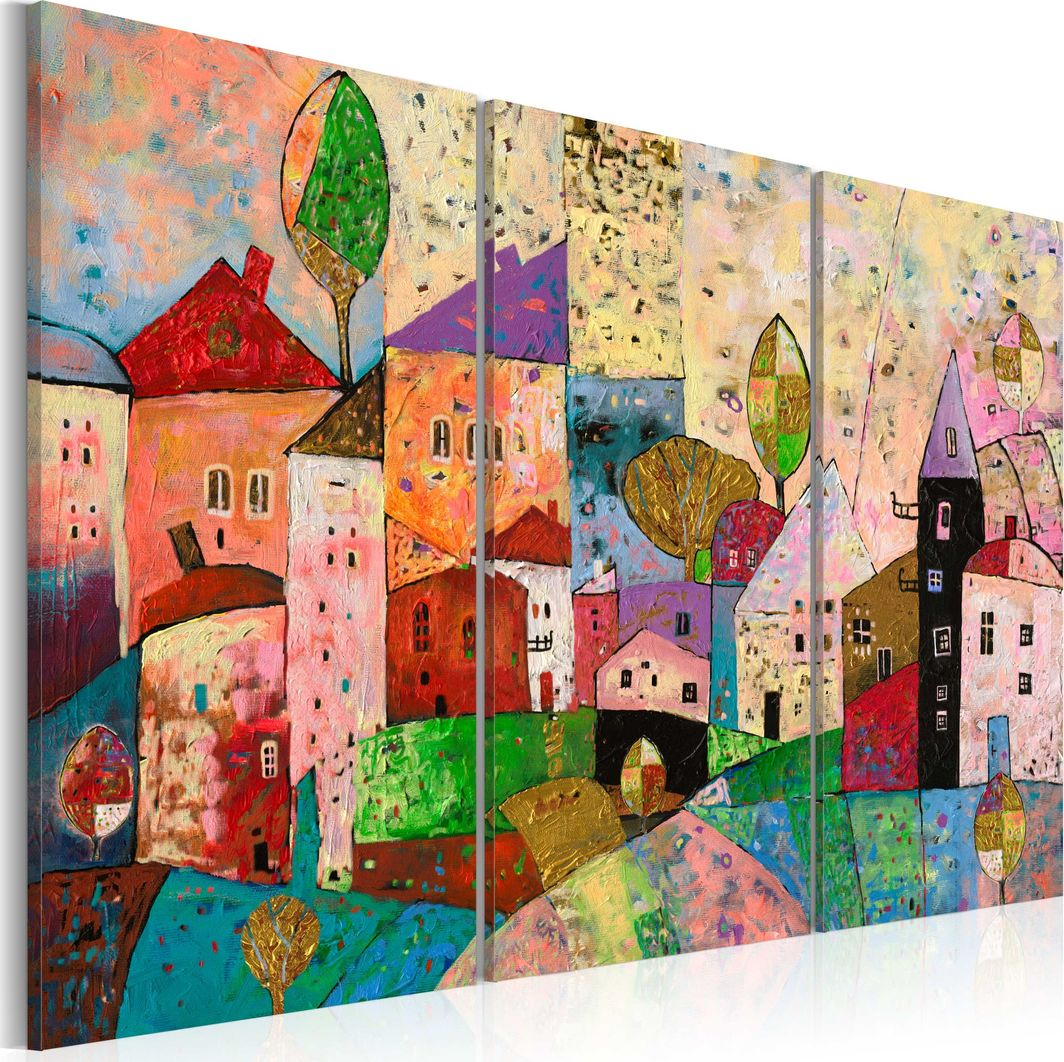 Artgeist Obraz - Malownicze miasteczko ARTGEIST 1