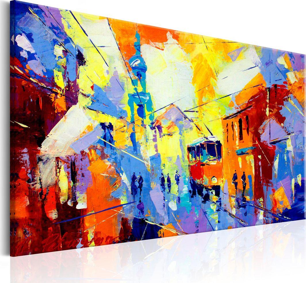 Artgeist Obraz - Kolory miasta ARTGEIST 1