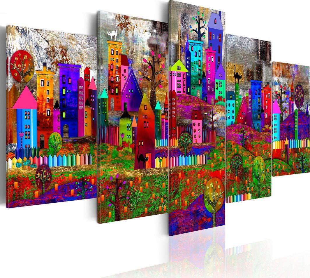 Artgeist Obraz - Miasto ekspresji ARTGEIST 1