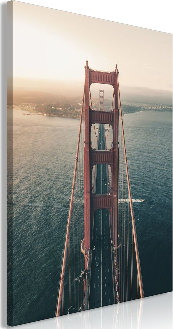 Artgeist Obraz - Golden Gate Bridge (1-częściowy) pionowy ARTGEIST 1