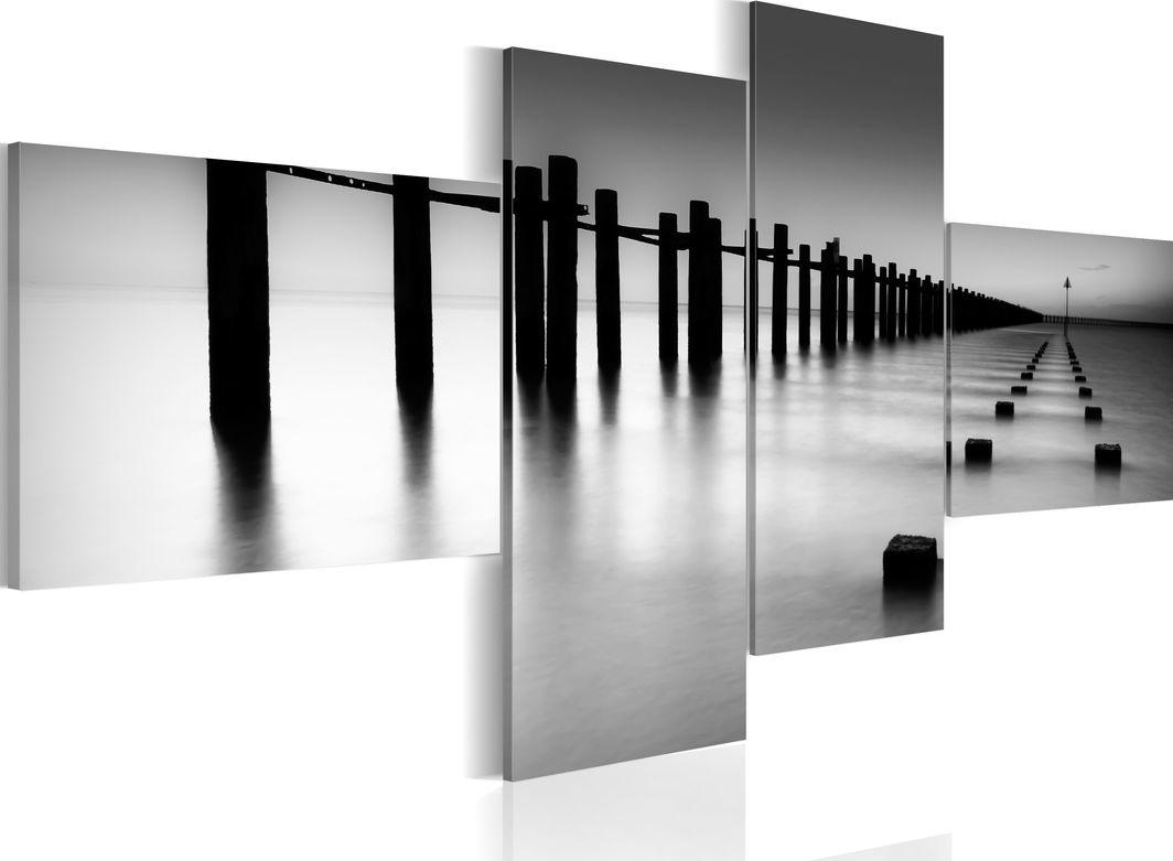 Artgeist Obraz - Morskie wybrzeże późną jesienią ARTGEIST 1