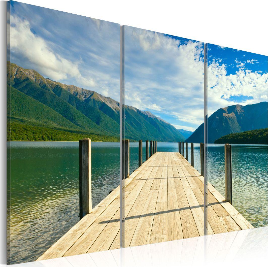 Artgeist Obraz - Molo na jeziorze ARTGEIST 1