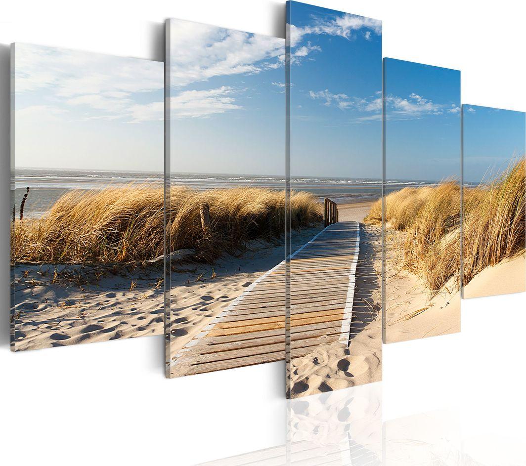 Artgeist Obraz - Dzika plaża - 5 części ARTGEIST 1
