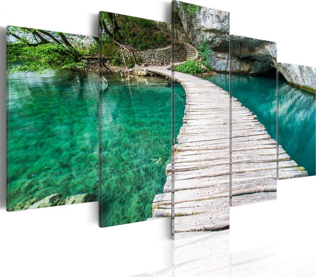 Artgeist Obraz - Turkusowe jezioro ARTGEIST 1