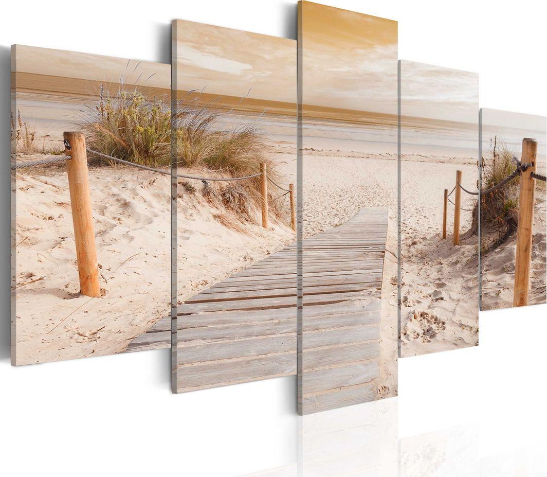 Artgeist Obraz - Poranek na plaży - sepia ARTGEIST 1