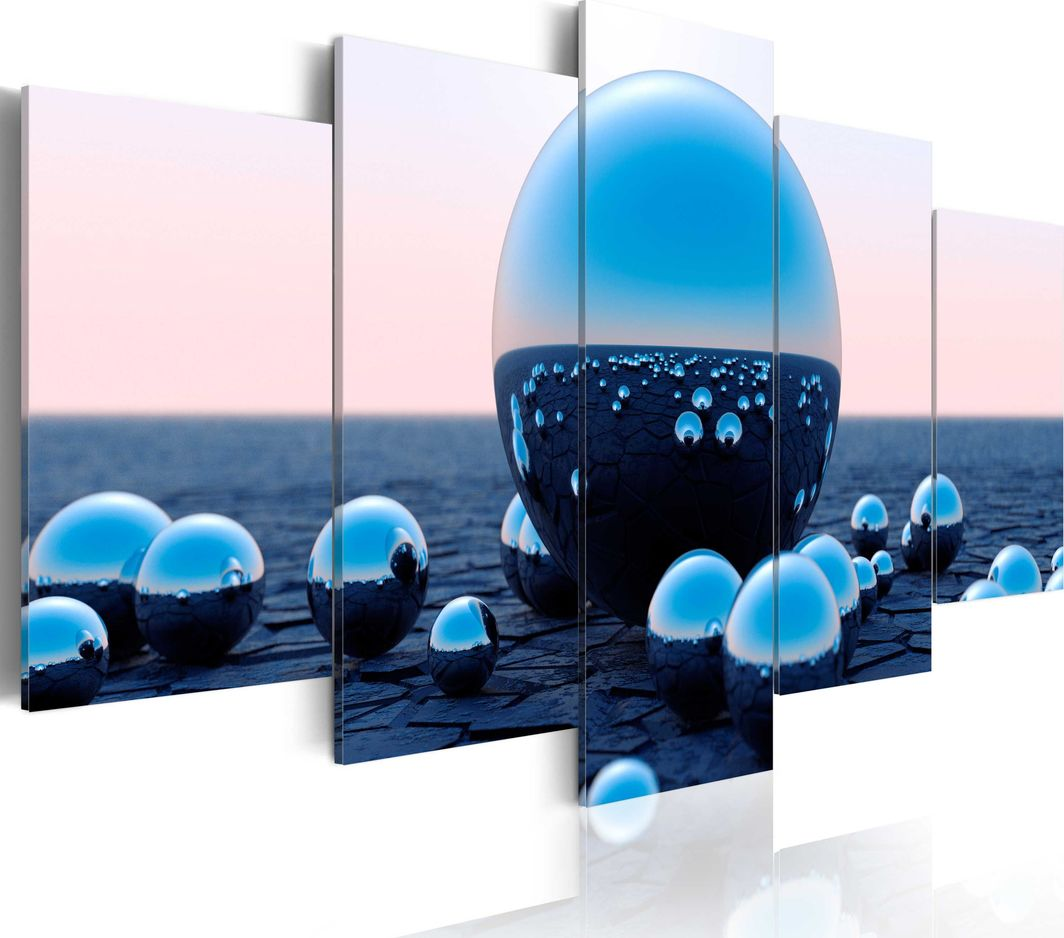 Artgeist Obraz - Pływające kule ARTGEIST 1