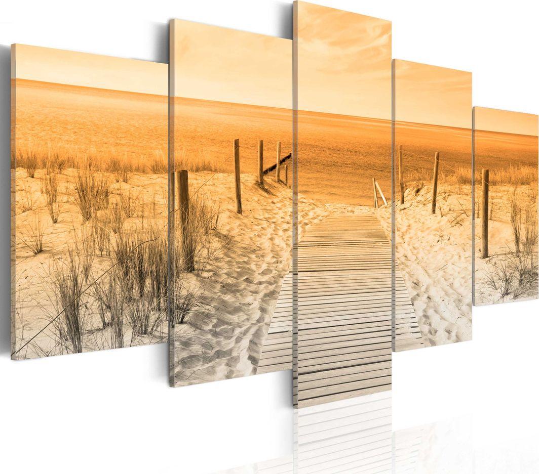 Artgeist Obraz - Pomarańczowa plaża ARTGEIST 1